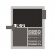 Layout Template 425