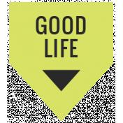 Summer Lovin_Banner flag-Good life Print