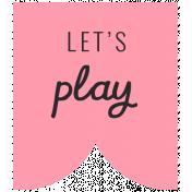 Summer Lovin_Banner Flag-Let's Play Print