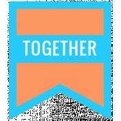 Summer Lovin_Banner Flag-Together Print