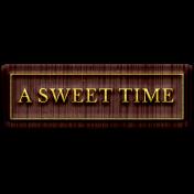Good Life April 21_Word Tag-Sweet time