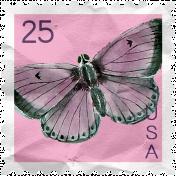 The Good Life: April Collage Kit- Postage Stamp 2