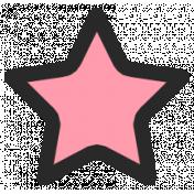Summer Lovin_Print Star-pink