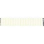 Summer Lovin_Washi tape-Chevron-white green