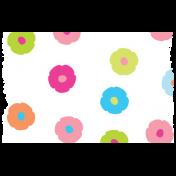 Summer Lovin_Washi tape-flowers-white multi