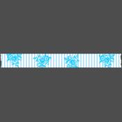 Summer Lovin_Washi tape-stripe flowers-white blue