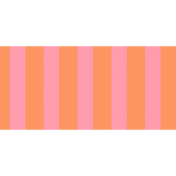 Summer Lovin_Washi tape-Stripe pink orange
