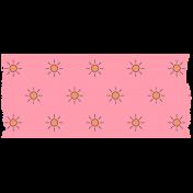 Summer Lovin_Washi tape-sun