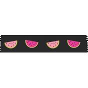 Summer Lovin_Washi tape-watermelon