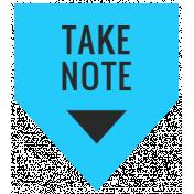 Summer Lovin_Banner flag-Take note Print