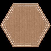 Good Life May 21 Collage_Tag Hexagon  Cardboard