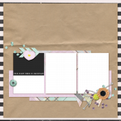 The Good Life: May Quick Pages Kit #2- QP 1