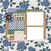 The Good Life: May 2020 Quick Pages Kit- QP 3