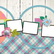 Garden Party Quick Pages Kit- QP 2