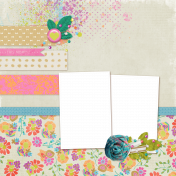 Garden Party Quick Pages Kit- QP 3