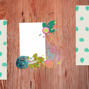 Garden Party Quick Pages Kit- QP 5