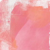 Good Life June 21_Painted paper-pink orange