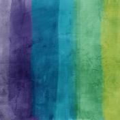 Good Life June 21_Painted paper-Stripe purple blue green   Dark