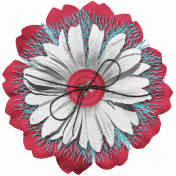 Good Life June 21_Flower Layered-Red blue white