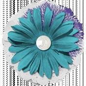 Good Life June 21_Flower Layered-White Purple Blue