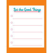 Good Life June 21_Pocket Cards-List The Good Things 3x4