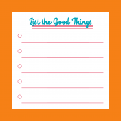 Good Life June 21_Pocket Cards-List The Good Things 4x4
