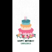 The Good Life: June Birthday Journal Me Kit- 08