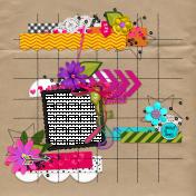 Flora Quick Pages Kit- QP 4