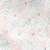 Good Life July 21_Paper Watercolor Flowers-Pink Navy Green