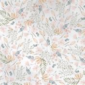 Good Life July 21_Paper Watercolor Flowers-Pink Orange Green