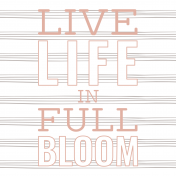 Good Life July 21_Pocket Card-Live Life In Full Bloom 4x4