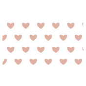 Good Life July 21_Washi Tape-Hearts-White Pink