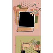 Travelers Notebook Layout Templates Kit #27 - Layout Template 27A