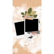 Travelers Notebook Layout Templates Kit #27- Layout Template 27B