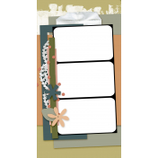 Travelers Notebook Layout Templates Kit #27- Layout Template 27C