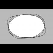 Pocket Card Template Kit #9_Pocket Card-Doodle Circle 4x6