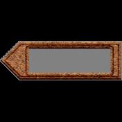 Templates Grab Bag Kit #42- cork arrow label