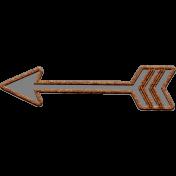 Templates Grab Bag Kit #42- cork arrow