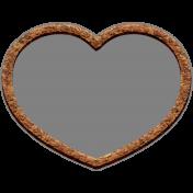 Templates Grab Bag Kit #42- cork heart