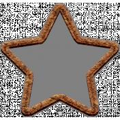 Templates Grab Bag Kit #42- cork star