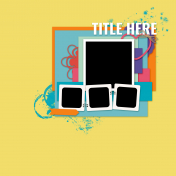Layout Templates Kit #72 - Template 72a