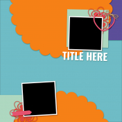 Layout Templates Kit #73- Template 73c