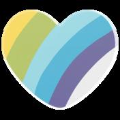 Good Life Aug 21_Heart Acrylic-Rainbow