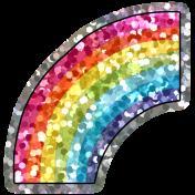 Good Life Aug 21_Rainbow-Shiny Sticker