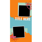 Travelers Notebook Layout Templates Kit #26- Template 26c