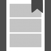 Pocket Cards Templates Kit #11- Template 11a 3x4
