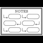 Pocket Cards Templates Kit #11- Template 11b 4x6