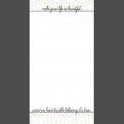Unicorn Tea Party Journal Me Kit- Travelers Notebook 5