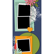 Travelers Notebook Layout Templates Kit #29- Layout Template 29d
