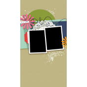 Travelers Notebook Layout Templates Kit #29- Layout Template 29f
